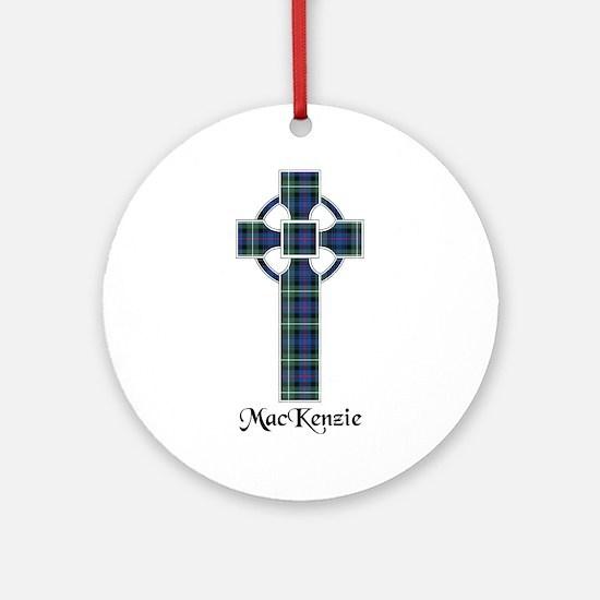Cross-MacKenzie Round Ornament