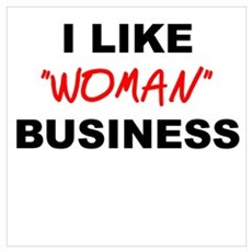 Woman Business Poster