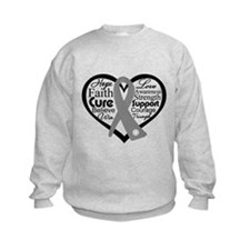 Parkinsons Disease Heart Sweatshirt