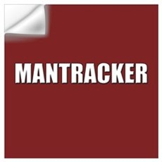 Mantracker Wall Decal