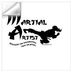 Martial Artist Wall Decal