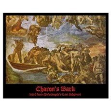 Michelangelo - Charon & the Damned 20x16 Poster