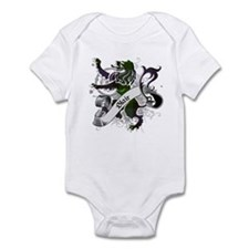 Blair Tartan Lion Infant Bodysuit