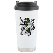 Blair Tartan Lion Travel Coffee Mug