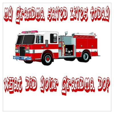 Saved Lives Today-Grandma Poster