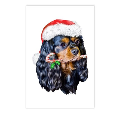 King Charles Christmas Postcards (Package of 8)