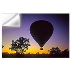 EArly Morning Balloon ride Australia Wall Decal