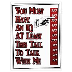 Tall IQ Poster