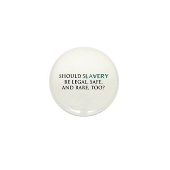 Legal, Safe, and Rare Mini Button (10 pack)