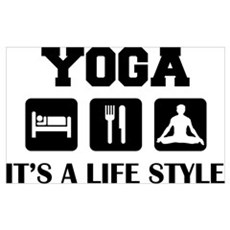 Yoga Life Style Poster