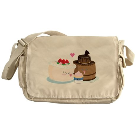 Cake Family Messenger Bag