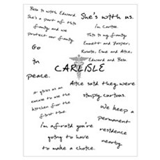 Carlisle Quotes Poster