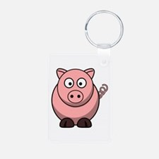 Cute Oink Keychains