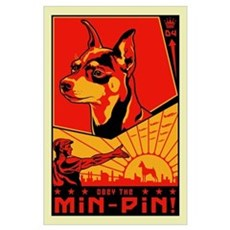 Obey the Min-Pin! Poster