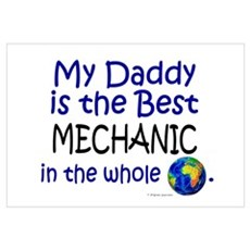 Best Mechanic In The World (Daddy) r Framed Print