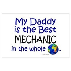 Best Mechanic In The World (Daddy) r Poster