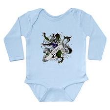 Bonner Tartan Lion Long Sleeve Infant Bodysuit