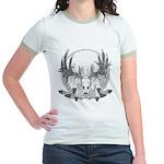 Whitetail Euro Mount Jr. Ringer T-Shirt