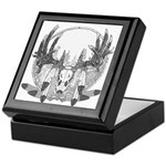 Whitetail Euro Mount Keepsake Box