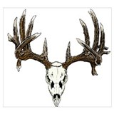 Deer hunting Framed Prints