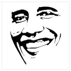 Barack Obama Face Poster