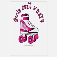 Pink Roller Derby Skate