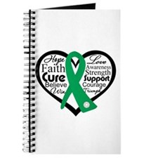 Liver Disease Heart Ribbon Journal