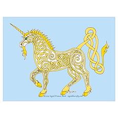 Celtic Unicorn 4 Poster