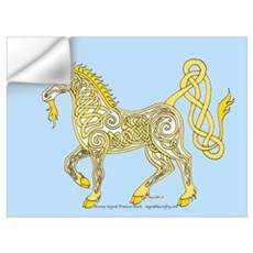 Celtic Unicorn 4 Wall Decal