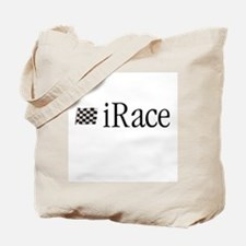 iRace Blue-Grey Race Driver Tote Bag