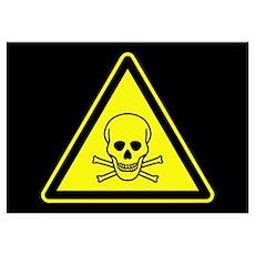 Warning: Poison Poster