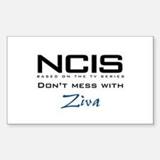 NCIS Don't Mess with Ziva Decal