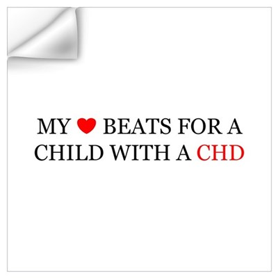 CHD HEART Wall Decal