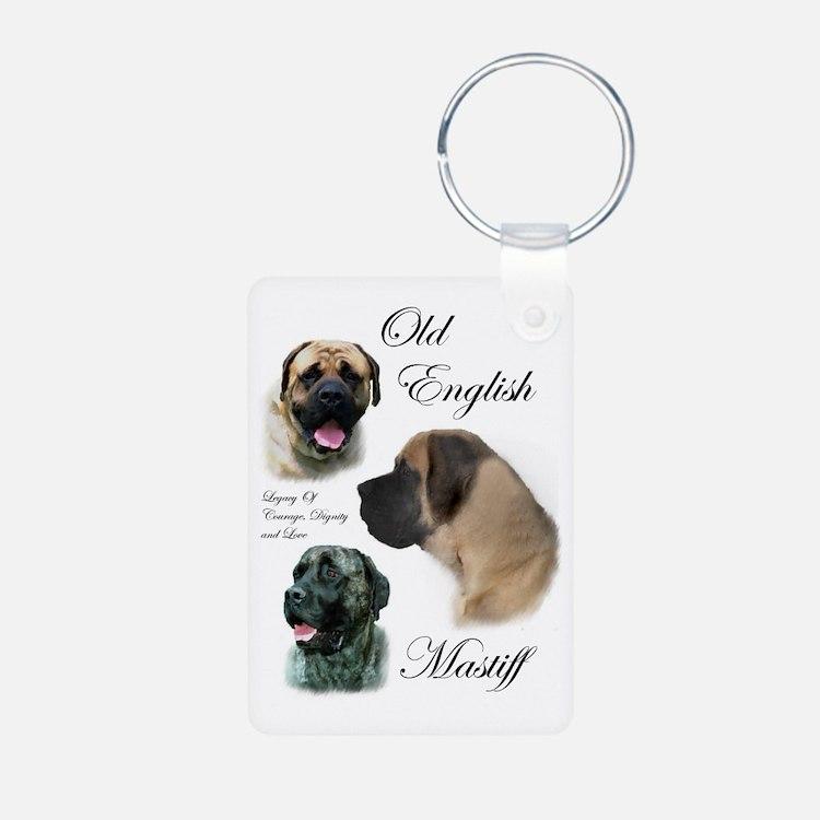 Old English Mastiff Keychains