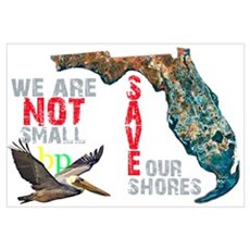 We Are Not Small BP Florida Framed Print