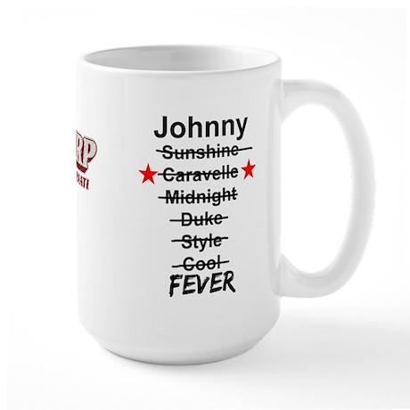 Johnny Fever Large Mug
