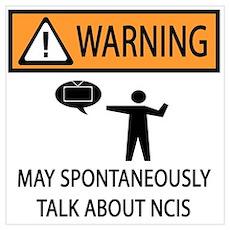 Spontaneously Talk NCIS Poster