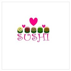 Sushi Love Poster
