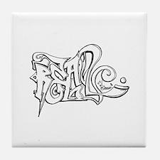 Real Graffiti Tile Coaster