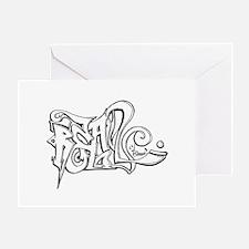 Real Graffiti Greeting Card