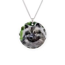 Keeshond Art Necklace