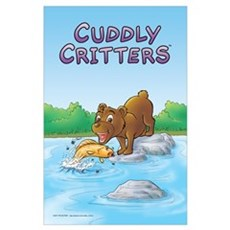 """Buster's """"gone fishing"""" Poster"""