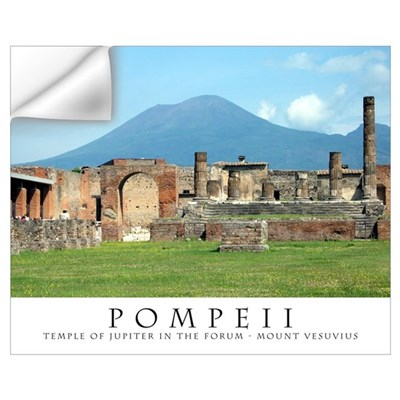 Forum in Pompeii Wall Decal