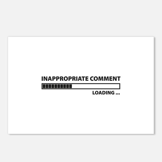 Inappropriate Comment Postcards (Package of 8)