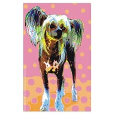 Seeing Spots Chinese Crested Framed Print