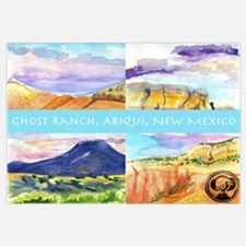 Funny Ghost ranch Wall Art
