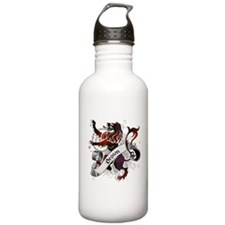 Brown Tartan Lion Water Bottle