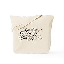 Hang Loose Bubble Graffiti Tote Bag