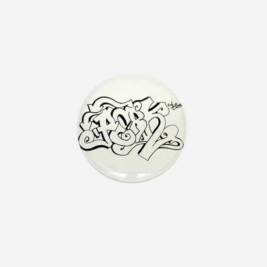 Hang Loose Bubble Graffiti Mini Button