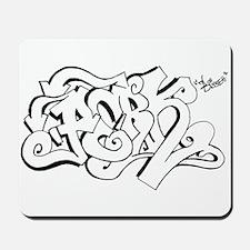 Hang Loose Bubble Graffiti Mousepad